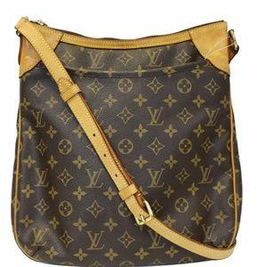 LOUIS VUITTON Odeon MM MonogramCanvas Shoulder Bag